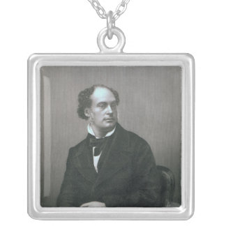 Daniel Maclise, Esq. RA Silver Plated Necklace