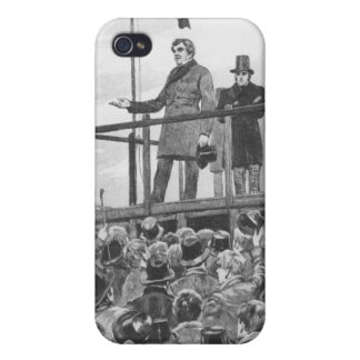 Daniel O'Connel at the meeting at Trim iPhone 4 Cases