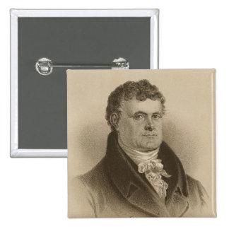 Daniel O'Connell 15 Cm Square Badge