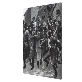 Daniel O'Connell  returning home from prison Canvas Print
