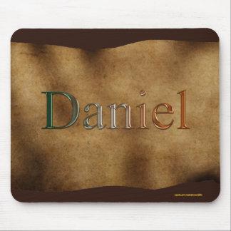 DANIEL Personalised Parchment-effect Mousemat