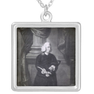 Daniel Race, engraved by James Watson, 1773 Silver Plated Necklace