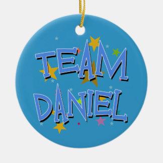 DANIEL Team Daniel Round Ceramic Decoration