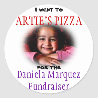 Daniela Fundraiser Stickers