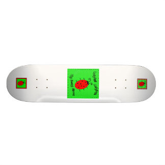 danielle ladybug 4 zazzle art children kids 4, ... skateboard