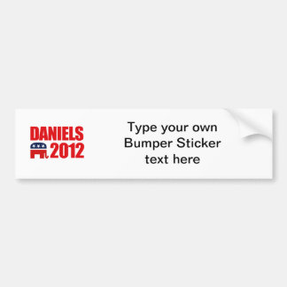 DANIELS 2012 BUMPER STICKERS