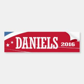 DANIELS 2016 BUMPER STICKERS