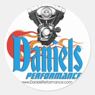 Daniels Performance Sticker