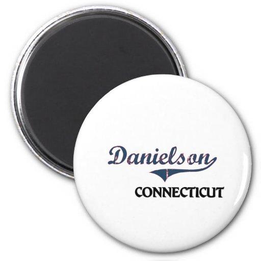 Danielson Connecticut City Classic Fridge Magnets