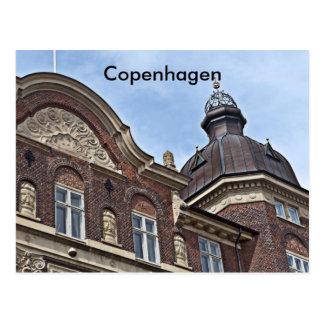 Danish architecture Copenhagen, Postcard