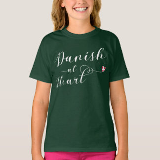 Danish At Heart Tee Shirt, Denmark
