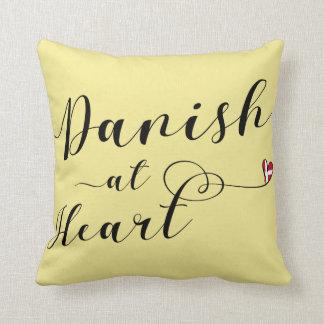 Danish At Heart Throw Cushion, Denmark Cushion
