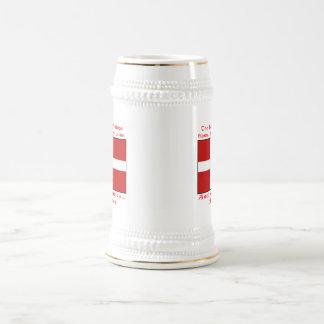 Danish Blood & Beer Viking Beer Stein