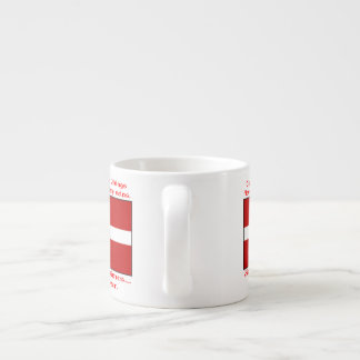 Danish Blood & Beer Viking Espresso Cup