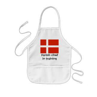 Danish Chef in Training Kids Apron