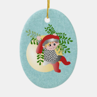 Danish Christmas Elf Christmas Ornament