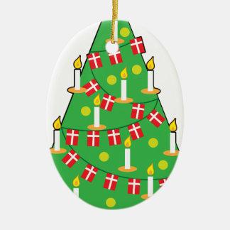 Danish Christmas Tree Christmas Ornament