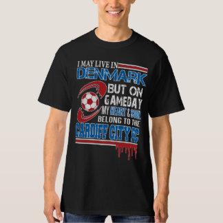 danish - Denmark Cardiff FC T-Shirt