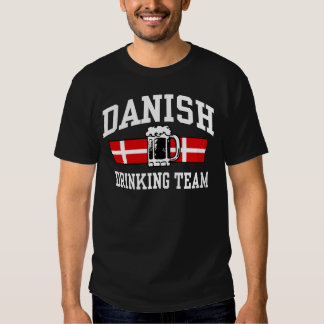 Danish Drinking Team T-shirts