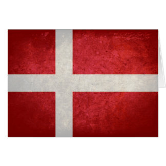 Danish Flag Card
