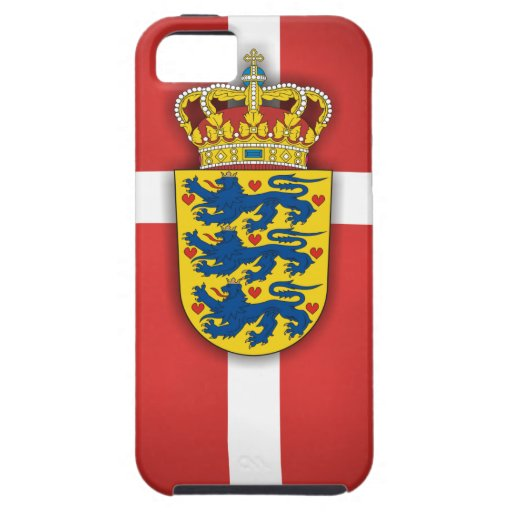 Danish Flag & Coat of Arms iPhone 5 Covers