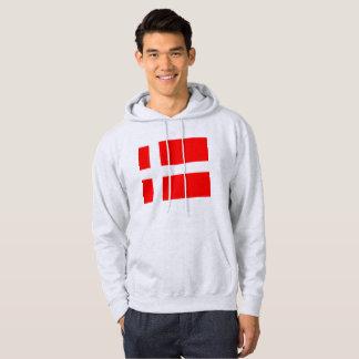 Danish Flag Hoodie