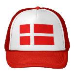 Danish flag of Denmark for Danes Mesh Hat