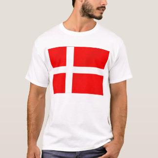 Danish flag of Denmark for Danes T-Shirt
