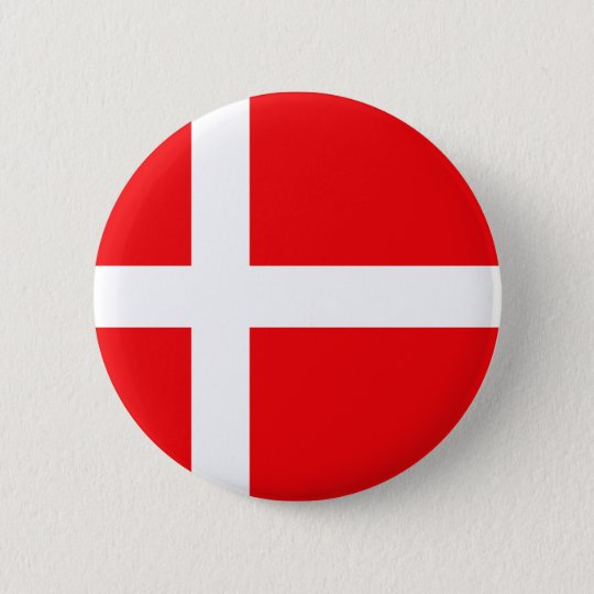Danish Flag T-shirts and Gifts 6 Cm Round Badge