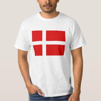 Danish flag t shirts for Denmark