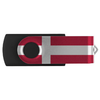 Danish flag USB flash drive