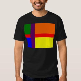 Danish Gay Pride Flag T Shirt