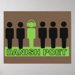 Danish Poet Print