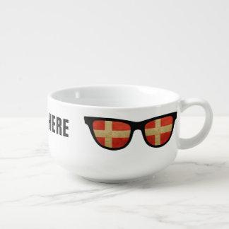 Danish Shades custom soup mug