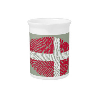 Danish touch fingerprint flag pitcher