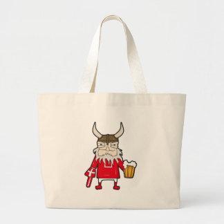 Danish Viking Fan Jumbo Tote Bag