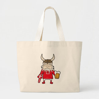 Danish Viking Fan Large Tote Bag