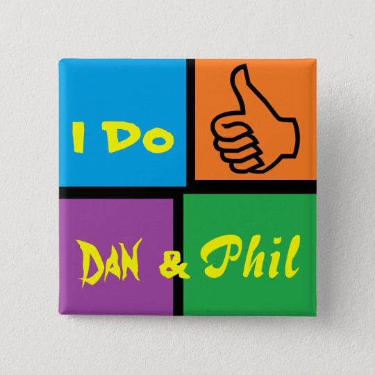 Danisonfire & AmazingPhil Duo Fan Badge