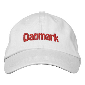 Danmark Embroidered Hat