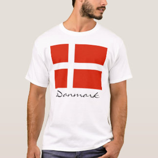 Danmark with Dannebrog T-Shirt