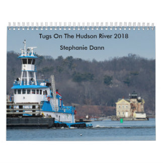 "Dann Ocean Towing Tug---""STEPHANIE DANN"" Calendar"