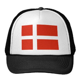 Dannebrog; The Official Flag of Denmark Cap