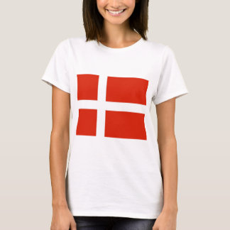 Dannebrog; The Official Flag of Denmark T-Shirt