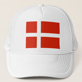 Dannebrog; The Official Flag of Denmark Trucker Hat