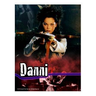Danni The Tribe Postcard
