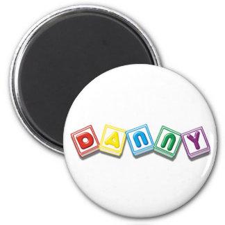 Danny 6 Cm Round Magnet