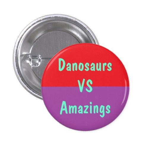 Danosaurs Vs Amazings Button