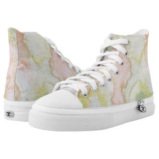 Danse des Marguerites Hi Top Printed Shoes