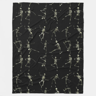 Danse Macabre Fleece Blanket