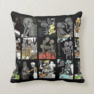 Danse Macabre Jumble Two pillow